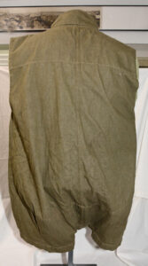 Jacket Parachutist 1942 Pattern sleeveless Back