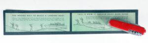 USN WWII Landing craft beaching instructions