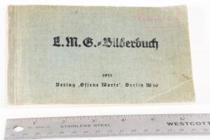 MG 08-15 original manual 1931 - cover