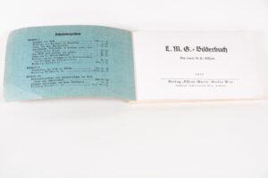 MG 08-15 original manual 1931 - title page