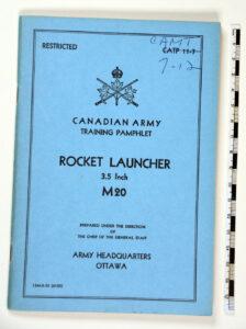 Manual Rocket Launcher M20 3-5 inch (1)