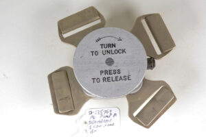 Parachute Quick Release Buckle paratrooper attributed - locked up