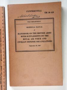TM 30-410 1942 Handbook on the British Army and RAF (1)