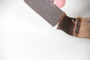 Trommel post-World War I production  - showing age damage to belt