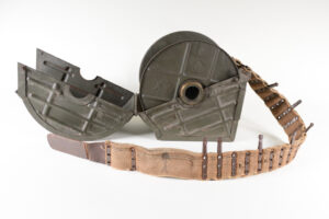 Trommel post-World War I production  - showing mounting bracket