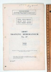 ATM No 37 1940 BRITISH
