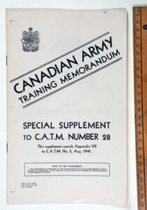 CATM No 28 Supplement