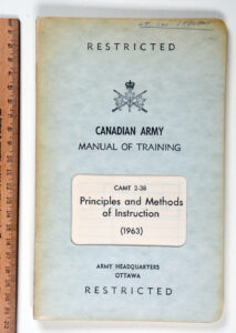 Principles and Methods of Instruction 1963