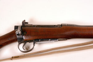 Rifle EAL SN 1640 (6) Eight side of body