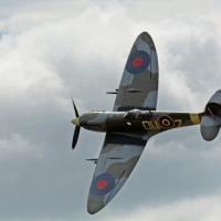 Abbotsford Air Show D7100 150-500 260 spitfire crop edit