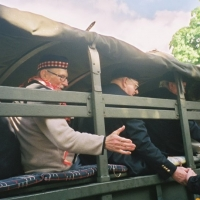 Apeldoorn veterans reaching out to the crowd- 2005