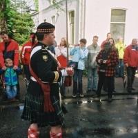Apeldoorn 2005 - Seaforth Highlanders of Canada delegation - LCol Blair McGregor