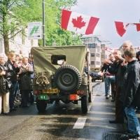 WWII jeep in Seaforth Highlanders of Canada markings Apeldoorn 2005